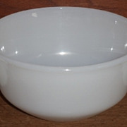 Lot/7 pc. White Fire King Bowls