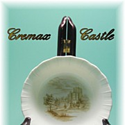 Depression Glass * Cremax * Castle Decal * Cereal Bowl