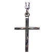 Sweet & Simple Sterling Cross with Chain � Charm or Pendant
