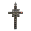Elegant Vintage Sterling and Marcasite Cross