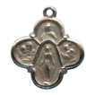 Lovely Little Sterling 6-Way Cruciform Medal