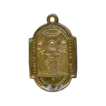 Antique Religious Medal � Free Us From the Fires of Hell � Scourging Pillar Reliquary