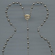 Luminous Silver Plated Rosary - Shiny & Sturdy