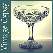 "Imperial Glass ""Mt. Vernon"" Vintage Jelly Compote"