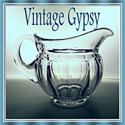 "Heisey ""Colonial"" Early  42 oz. Jug Pattern #16"