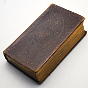 Dated 1845 Prayer Book/Proper Lessons