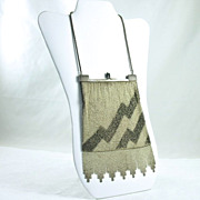 1920�s Art Deco Mesh Dance Purse