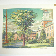 Louis Novak Artist The U.S. Coast Guard Academy New London Picture