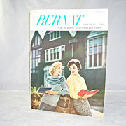 Bernat Knitting Book No. 67 The School and College Look 1958