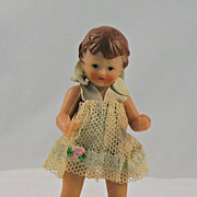 Vintage Darling Little Girl Doll House Doll