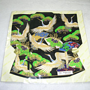 NOS Kimono Play Handkerchief Silk Original Package Made In Japan