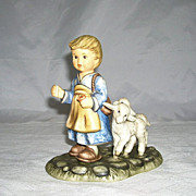 Endearing Goebel Berta Hummel Figurine O Come All Ye Faithful BH 51