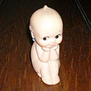 Kewpie Rose ONeill Cameo Rubber Cherub Angel Doll 3  Inches