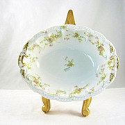 Vintage Haviland & Co Limoges France Princess Pattern Open Vegetable Bowl