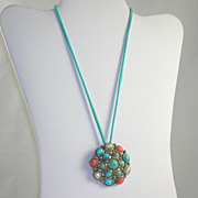 Vintage Pendant Necklace/Brooch Premier Designs