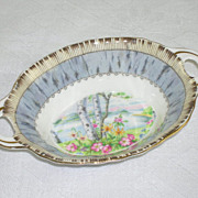 Royal Albert�s Silver Birch Double Handled Condiment Nut Dish Bowl