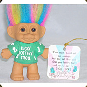 Lucky Lottery Troll Doll by Russ