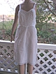 Vintage 60s Gorgeous Barbizon Tafredda White Lacy Dress Slip with Zipper