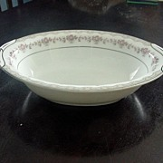 SALE PENDING Vintage Noritake Open Vegetable Bowl, Glenwood Pattern