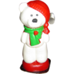 Vintage Gurley Christmas Bear Candle