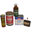 Five Vintage Home Improvement Product Tins