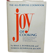 SALE Joy Of Cooking The All-Purpose Cookbook by Irma S. Rombauer and Marion Rombauer ...