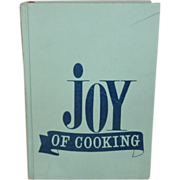 SALE Joy of Cooking by Irma S. Rombauer and Marion Rombauer Becker c.1973