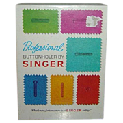 SALE Singer Professional Buttonholer for Slant-Needle Zig-Zag Sewing Machines