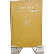 SALE Recipes of all Nations Cookbook by Countess Morphy c. 1935