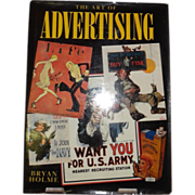 SALE The Art of Advertising by Bryan Holme c. 1985