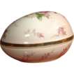 Vintage Porcelain Powder Jar or Trinket Box SRG Japan