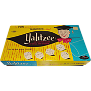 Vintage Yahtzee Game Near Mint c.1956