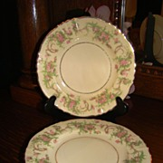 "4 Syracuse China ""Dearborn"" Bread & Butter Plates"
