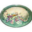"HALF OFF SALE T & V Limoges France Handpainted & Artist Signed Tray ~ ""Wild Violets"""