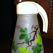 Large Hazel Atlas Batter Pitcher