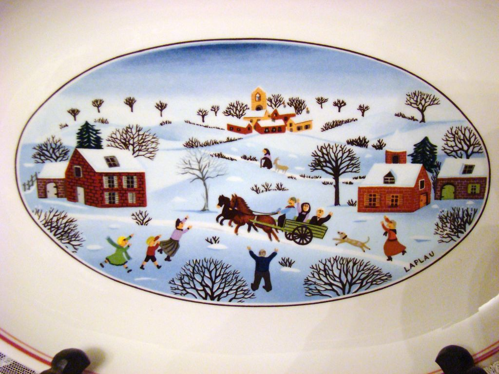 Villeroy boch pickle dish naif christmas laplau from for Villeroy and boch christmas