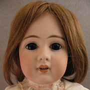 "SALE 19"" Simon & Halbig Model 939 Bisque Head Doll on Ball Jointed Body"