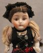 4&quot; All Original All Bisque Doll in Swiss Regional Costume