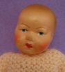4.5&quot; French Petit Colin Celluloid Baby Doll w/ Original Clothing
