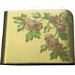 Vintage Elgin American Embossed Floral Compact