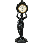 REDUCED Antique American, Waterbury Clock Co.,Figural Novelty Clock