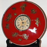 c.1920s. German,  30 hours  Alarm Shelf or Wall Clock
