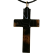 Antique Victorian Agate Cross c.1880