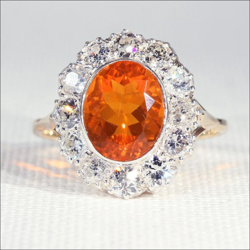 Fire Opal Ring Amazon