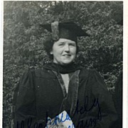 Photograph Personally Signed By Lotte Lehmann to Virginia Wallenstein