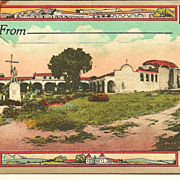 Souvenir Picture Folder California Missions CA 1920