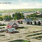 Post Card, Early Town View of Turlock California, Circa 1900, FREE SHIPPING