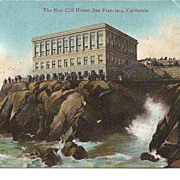 "Vintage Postcard, The ""New"" Cliff House in San Francisco"