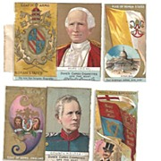 Duke's Cameo Cigarette Cards~Three~Rulers of the World