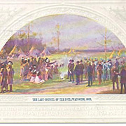 REDUCED Council of the Potta Watomies Post Card~Postmarked 1912